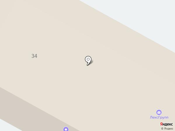 Кузов на карте Пушкино