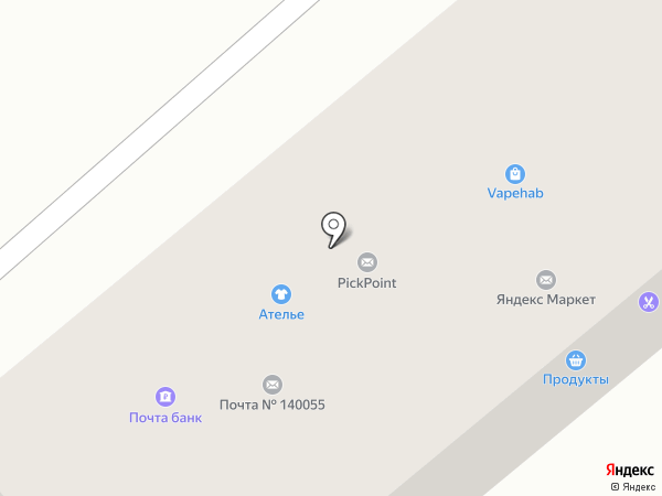 Почта Банк, ПАО на карте Котельников
