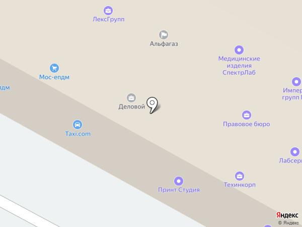 Потолок-Комфорт на карте Пушкино
