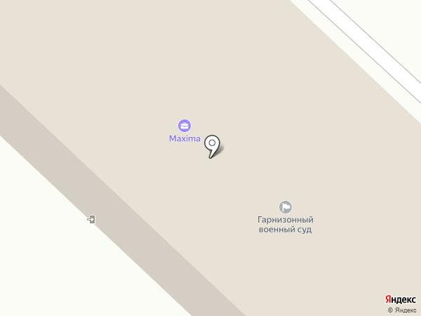 Реутовский гарнизонный военный суд на карте Реутова