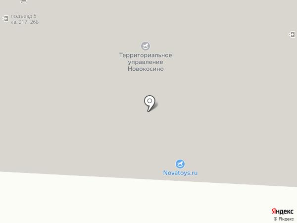 Родник, центр творчества на карте Москвы