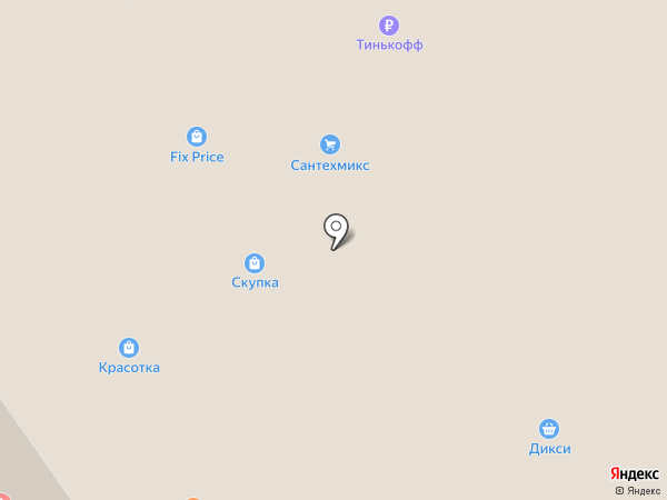 Самоделкин на карте Дзержинского