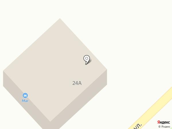 МАГ на карте Старого Оскола