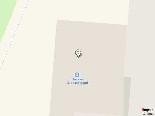 Магазин товаров для дома на карте Дзержинского