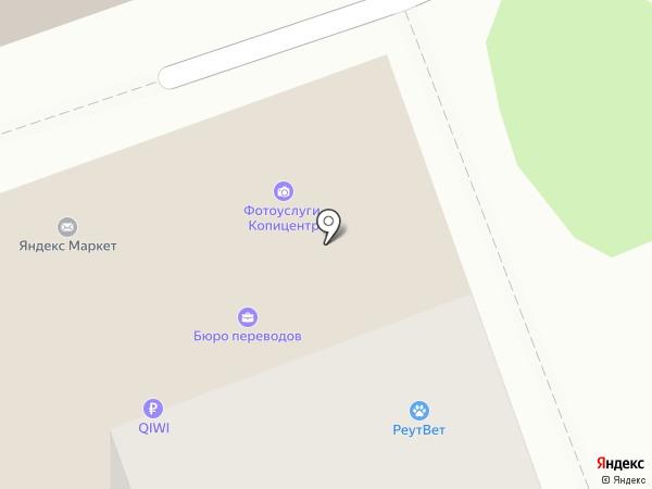 Гном на карте Реутова