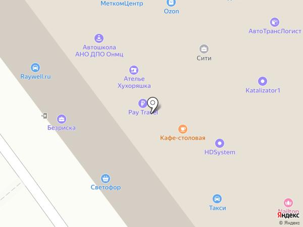 Авто-Онлайн на карте Дзержинского