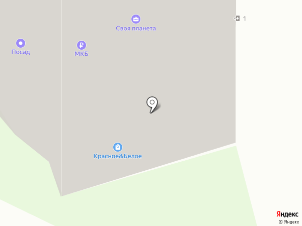 Агробим на карте Пушкино