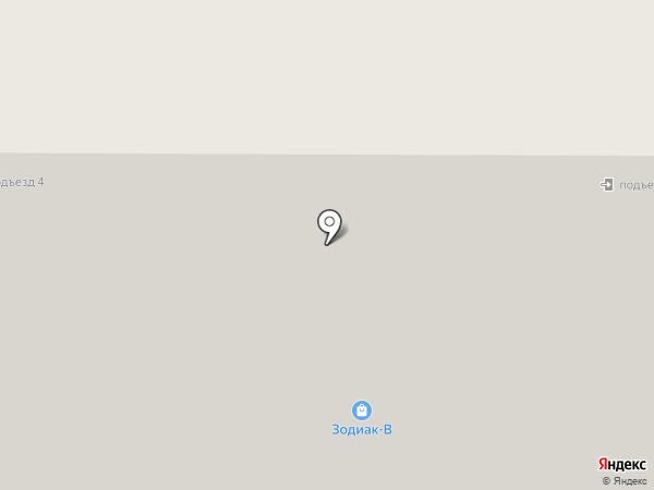 На Некрасова на карте Реутова