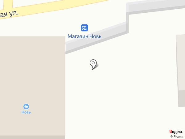 Новь на карте Старого Оскола