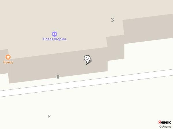 Форма на карте Правдинского