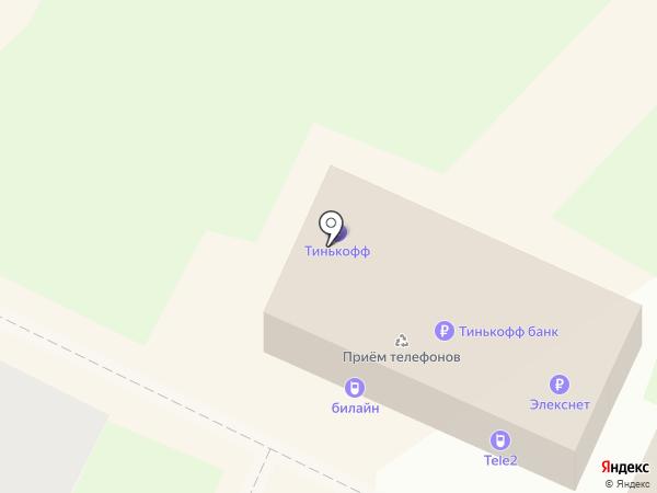 CyberPlat на карте Дзержинского