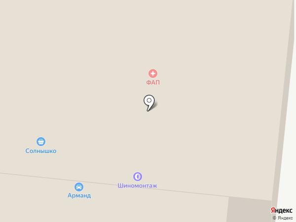 Морена-ЮП на карте Пушкино