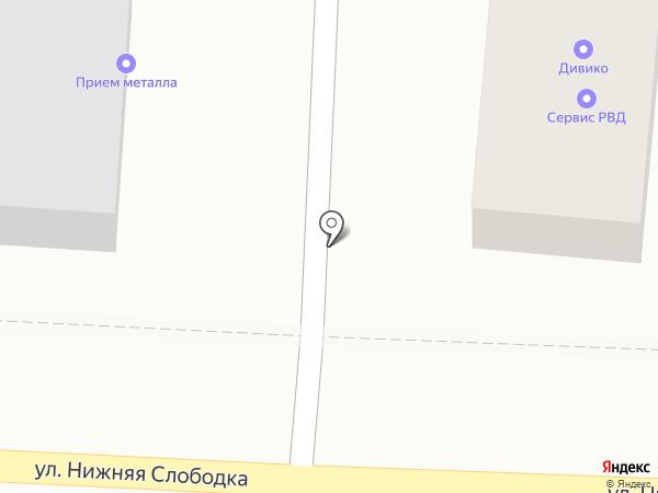 Аэр на карте Пушкино
