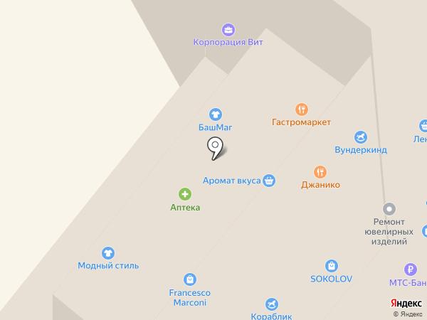 Лабиринт на карте Пушкино