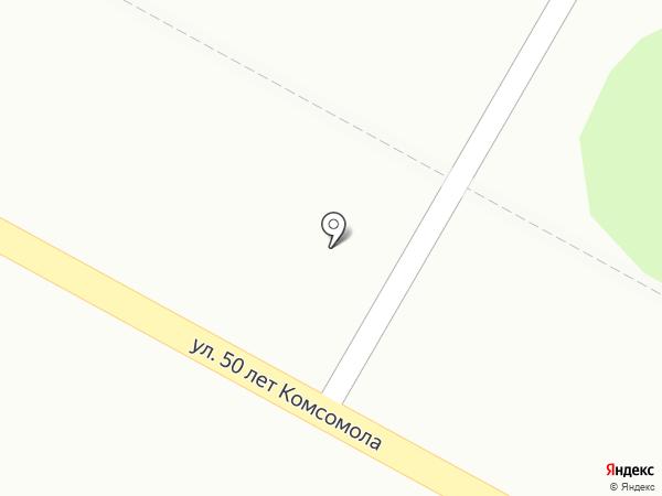 Киоск по продаже хлебобулочных изделий на карте Пушкино