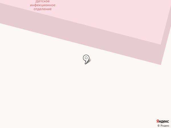 Дзержинская городская больница на карте Дзержинского