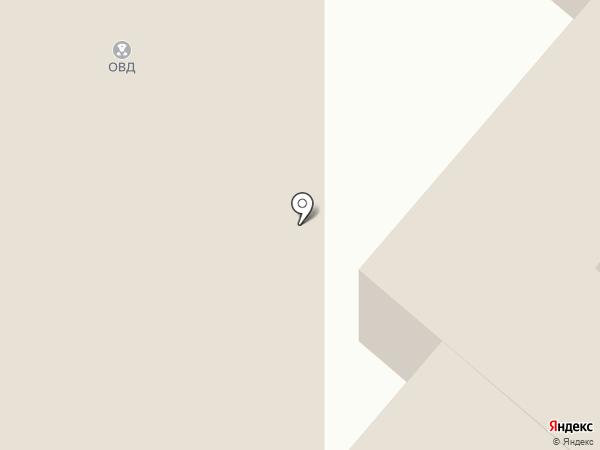 Участковый пункт полиции на карте Юбилейного