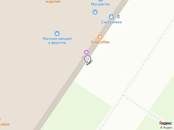 Магазин сантехники и вентиляционного оборудования на карте Москвы