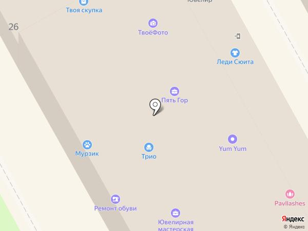 ЕВРОТУР на карте Пушкино
