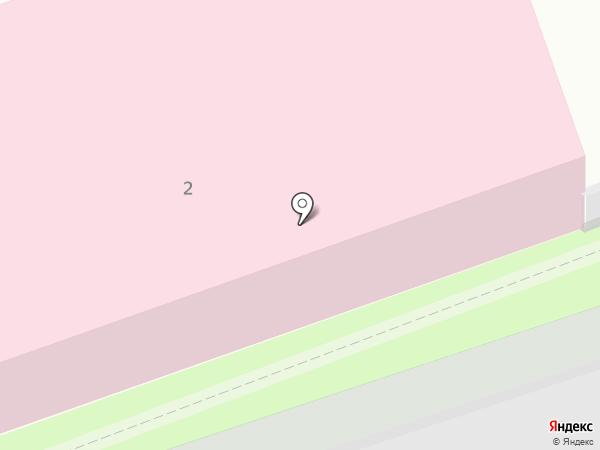 Инвита на карте Реутова
