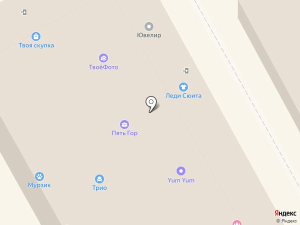 Коровушка на карте Пушкино