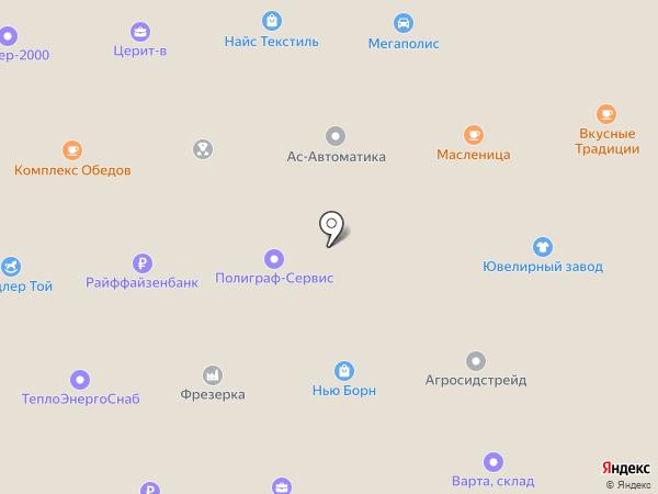 КС ТрансАвто на карте Пушкино