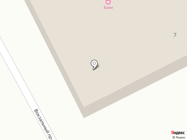 Бытсервис на карте Пушкино