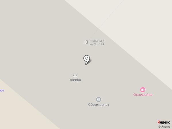Аква-Релакс на карте Москвы