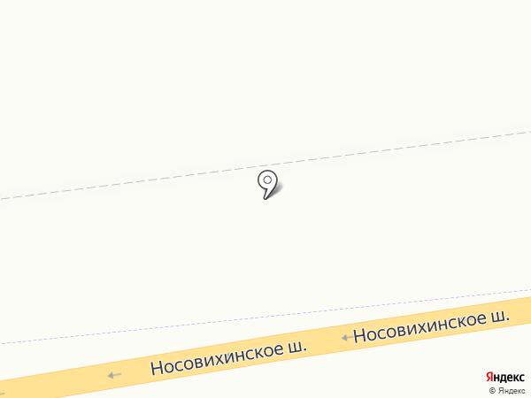 Мосгортранс на карте Реутова