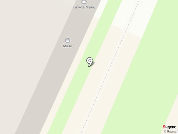 Маяк на карте Пушкино