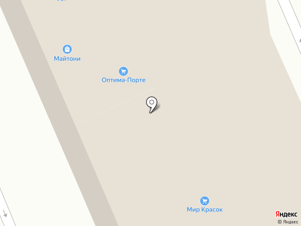 Термовод на карте Реутова