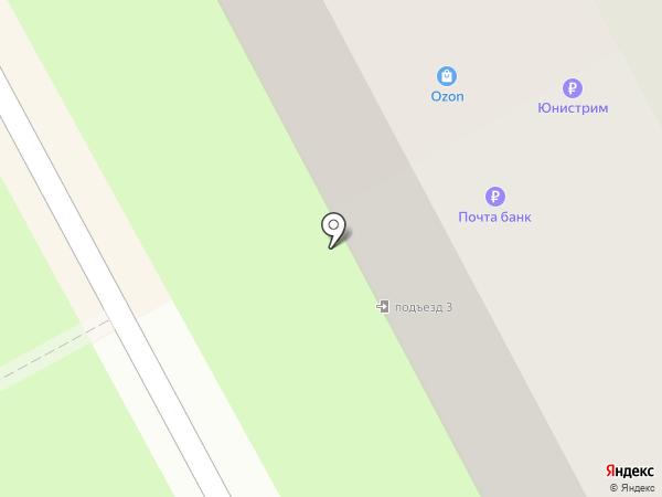 Почтовое отделение №141207 на карте Пушкино