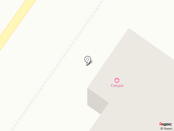 Сакура на карте Ясиноватой