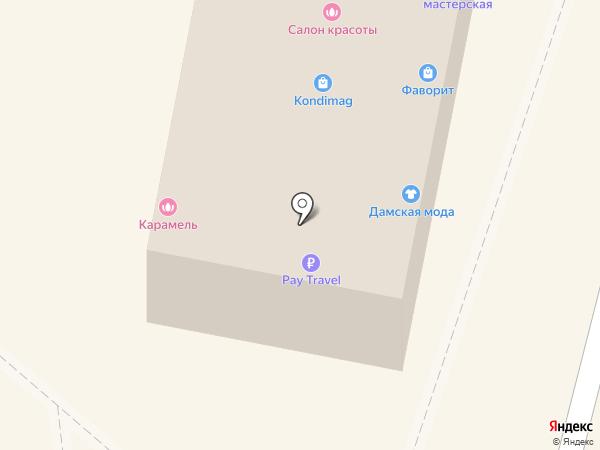 Камея на карте Дзержинского