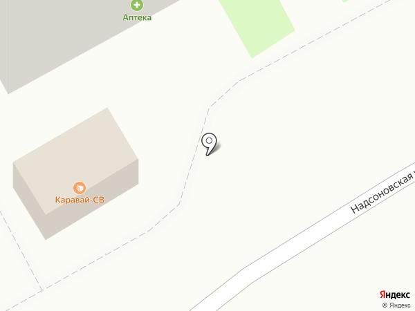 Каравай СВ на карте Пушкино