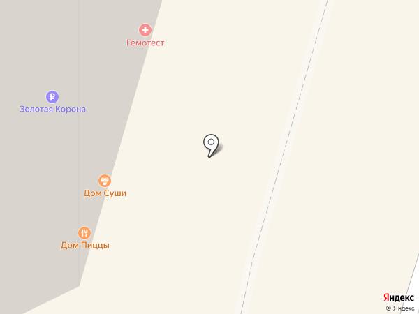 Скороход на карте Дзержинского