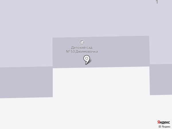 Детский сад №53, Дюймовочка на карте Пушкино