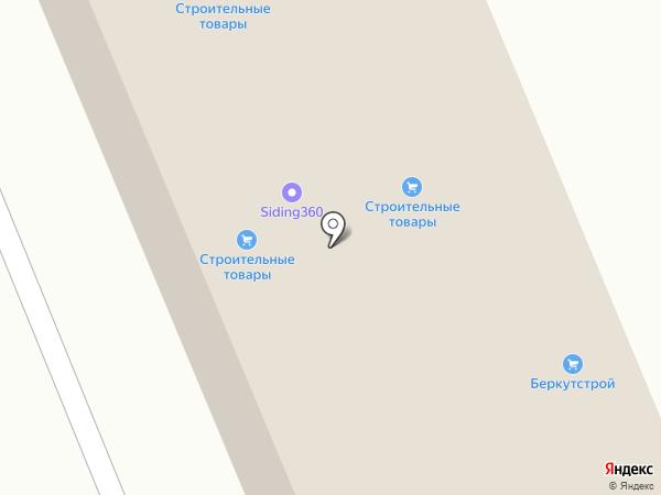 Фабрика Леса на карте Реутова