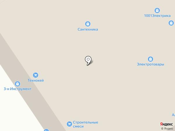Крепкая линия на карте Реутова