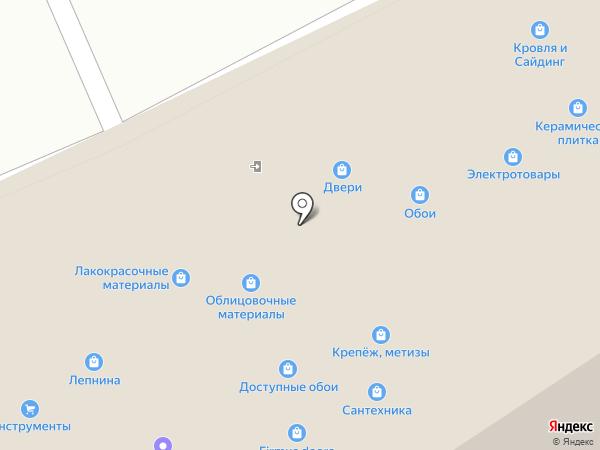 Магазин вентиляционного оборудования и сантехники на карте Реутова