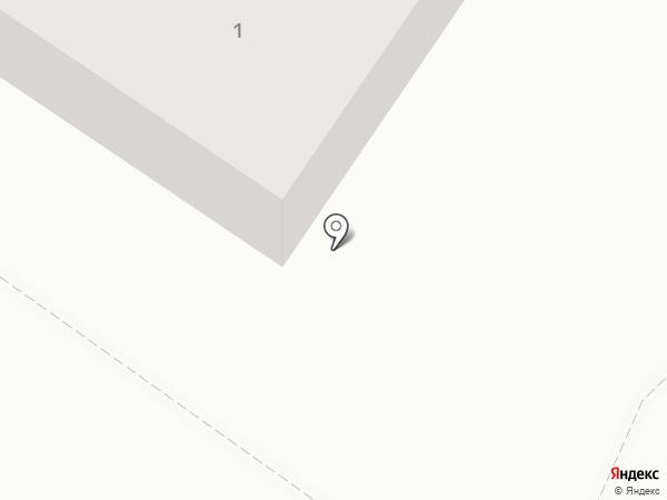 Киоск хлебной продукции на карте Ясиноватой