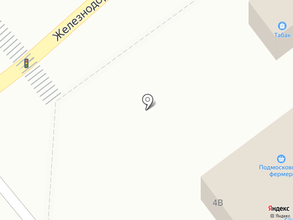 Киоск по продаже фруктов и овощей на карте Котельников