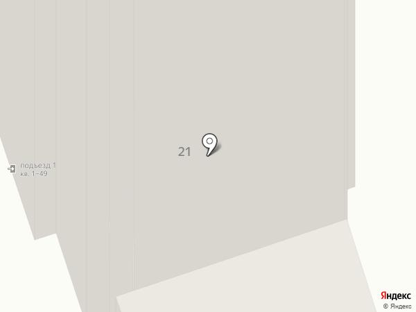 Аист на карте Реутова