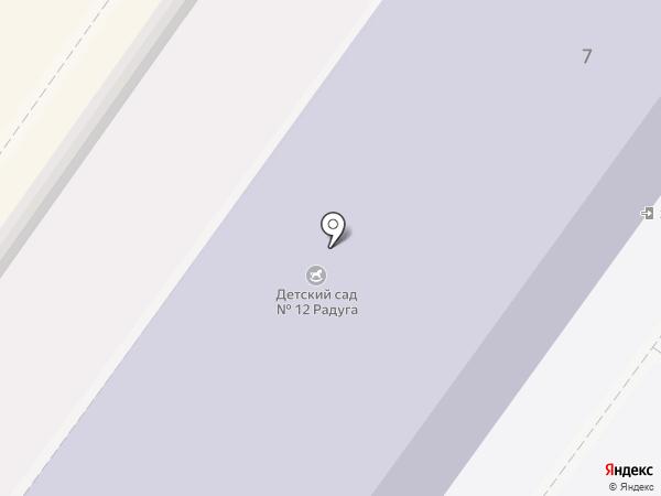Детский сад №12, Ивушка на карте Ясиноватой