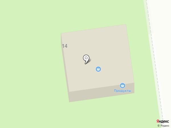 Аистёнок на карте Юбилейного