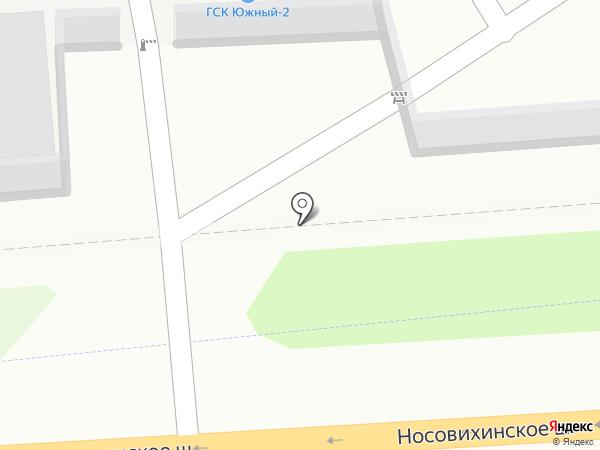 Южный-2 на карте Реутова