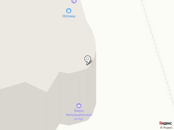 Наливайка на карте Реутова