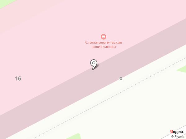 Стоматологическая поликлиника на карте Пушкино