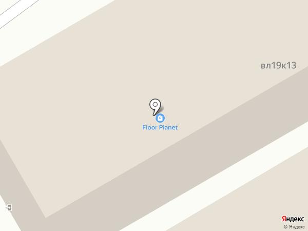 ОлимпПаркета на карте Реутова