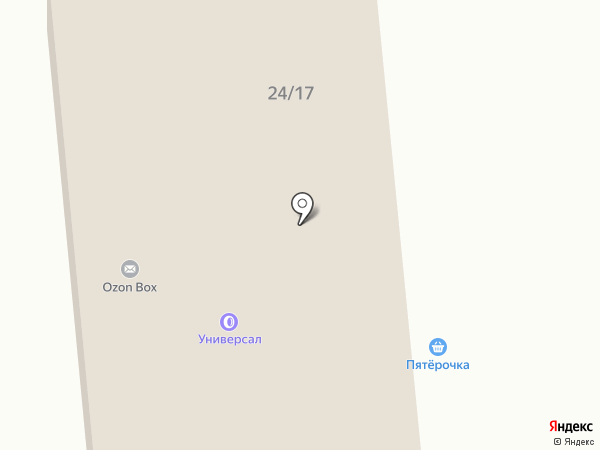 Профо на карте Юбилейного